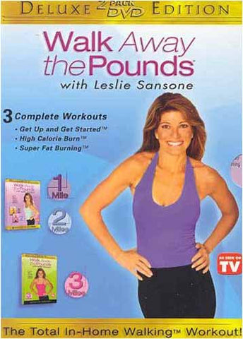 Walk Away the Pounds 2-Pack with Leslie Sansone (Boxset) DVD Movie