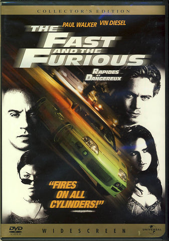 The Fast and the Furious (Collector s Widescreen Edition) (Bilingual) DVD Movie