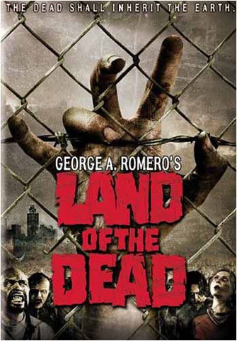 Land of the Dead(bilingual) DVD Movie