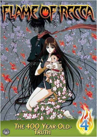 Flame of Recca - Vol. 4 - 400 Year Old Truth DVD Movie
