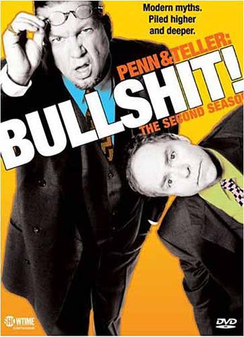 Penn and Teller - Bullshit - The Complete Second Season (Boxset) DVD Movie