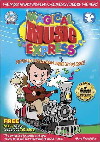 Magical Music Express DVD Movie