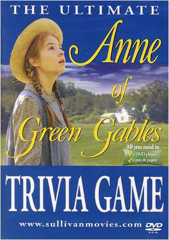 The Ultimate Anne of Green Gables Trivia Game DVD Movie