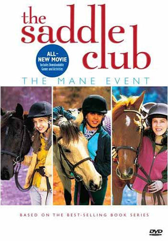 The Saddle Club- Mane Event DVD Movie