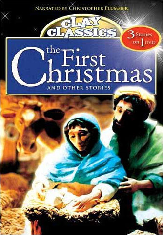 Clay Classics - The First Christmas and Other Stories DVD Movie