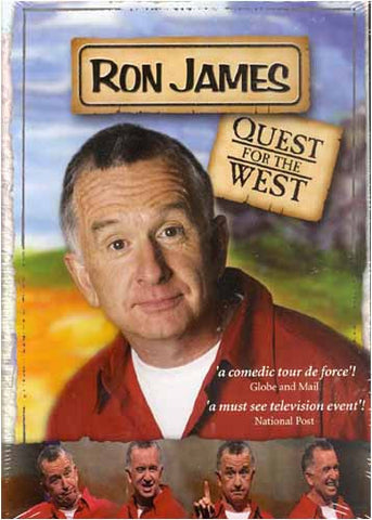 Ron James - Quest for the West DVD Movie