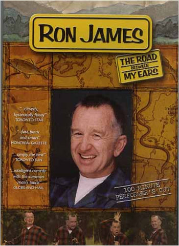 Ron James - The Road Between My Ears DVD Movie
