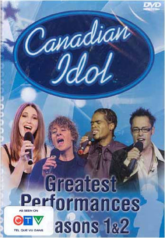 Canadian Idol - Greatest PerformancesSeason 1 & 2 DVD Movie