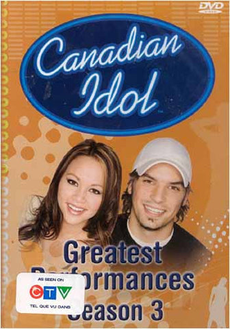 Canadian Idol - Greatest Performances Season 3 DVD Movie
