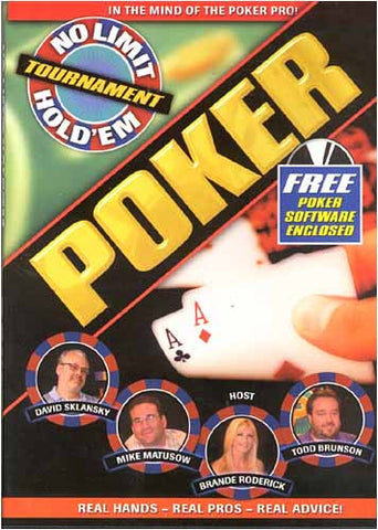 No Limit Hold 'Em Tournament Poker DVD Movie