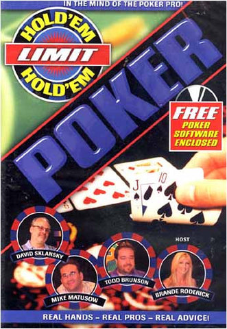 Hold' Em Limit Poker DVD Movie