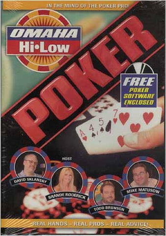Omaha Hi - Low Poker DVD Movie
