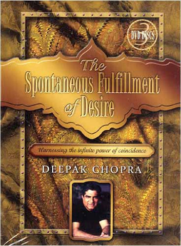 The Spontaneous Fulfillment of Desire - Deepak Chopra (Boxset) DVD Movie