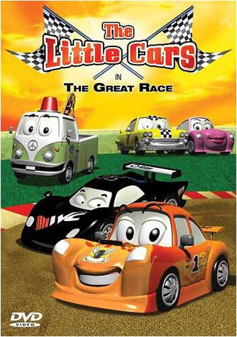 The Little Cars In The Great Race DVD Movie