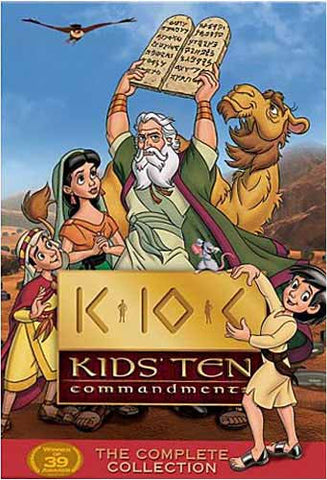 Kids' Ten Commandments The Complete Collection (Boxset) DVD Movie