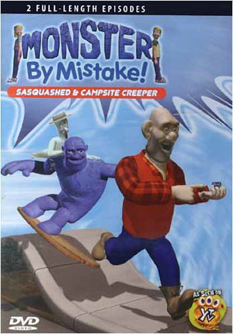 Monster By Mistake Sasquashed & Campsite Creeper DVD Movie