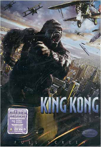 King Kong (Full Screen Edition) (Peter Jackson) DVD Movie