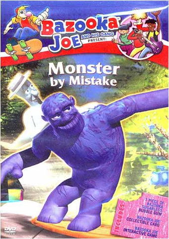 Bazooka Joe and his Gang: Monster by Mistake DVD Movie