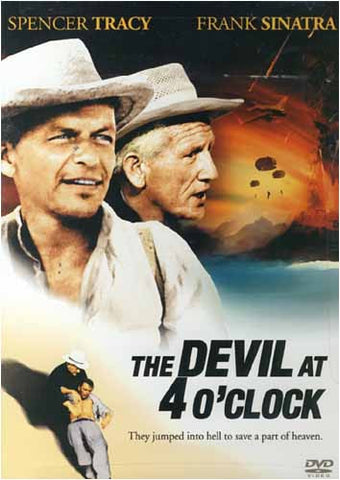 The Devil at 4 O Clock DVD Movie