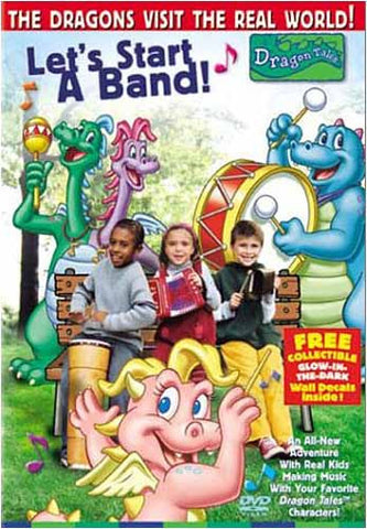 Dragon Tales - Let s Start a Band DVD Movie
