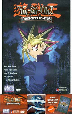 Yu-Gi-Oh! - Dungeondice Monsters (Vol. 16) w/Action Figure (Boxset) DVD Movie