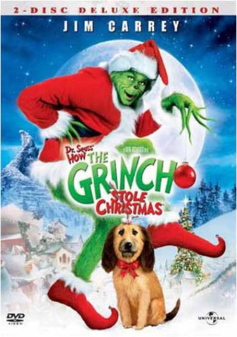 Dr. Seuss' How The Grinch Stole Christmas (Deluxe Edition) DVD Movie