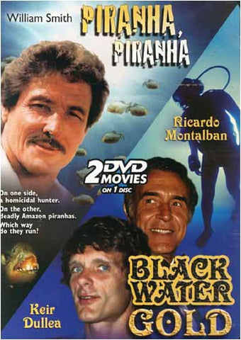 William Smith / Ricardo Montalban (Piranha, Piranha / Black Water Gold) DVD Movie