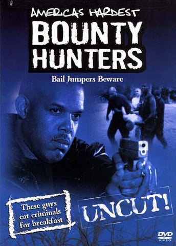 America's Hardest Bounty Hunters: Bail Jumpers Beware (2005) DVD Movie