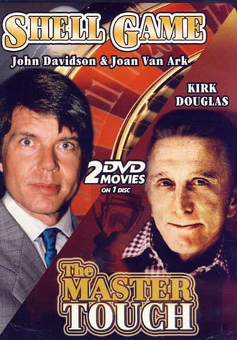 John Davidson & Kirk Douglas (Shell Game/The Master Touch) DVD Movie