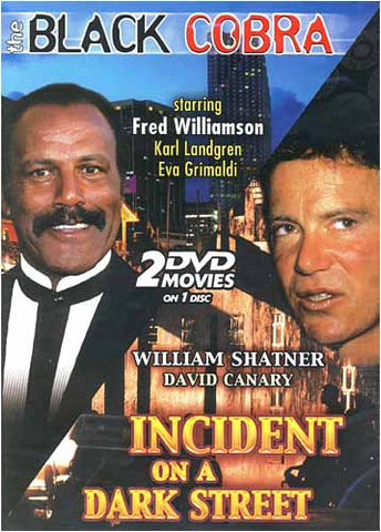 The Black Cobra / Incident on a Dark Street DVD Movie