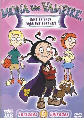 Mona the Vampire - Best Friends Together Forever! DVD Movie