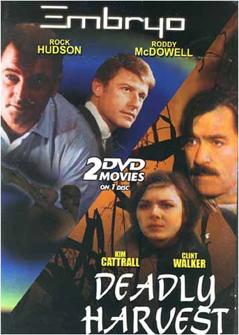 Embryo & Deadly Harvest ... 2 DVD Movies on 1 Disc DVD Movie