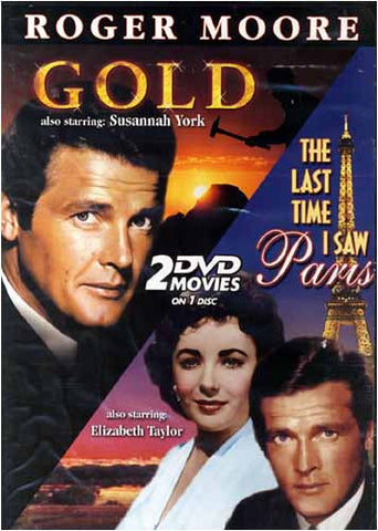 Gold / The Last Time I Saw Paris (Roger Moore) DVD Movie