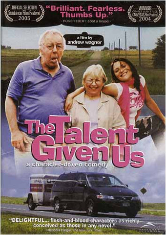 The Talent Given Us DVD Movie