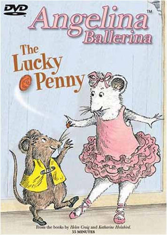 Angelina Ballerina - The Lucky Penny DVD Movie