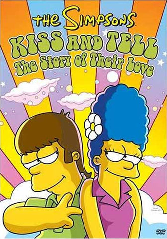 The Simpsons - Kiss and Tell: The Story of Their Love (Bilingual) DVD Movie