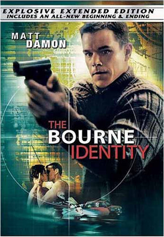 The Bourne Identity (Full Screen Extended Edition) DVD Movie