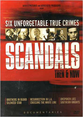 Scandals Then & Now DVD Movie