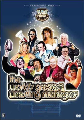WWE Presents The World's Greatest Wrestling Managers DVD Movie