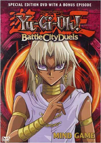 Yu-Gi-Oh! - Battle City Duels- Mind Game(Vol. 10) DVD Movie