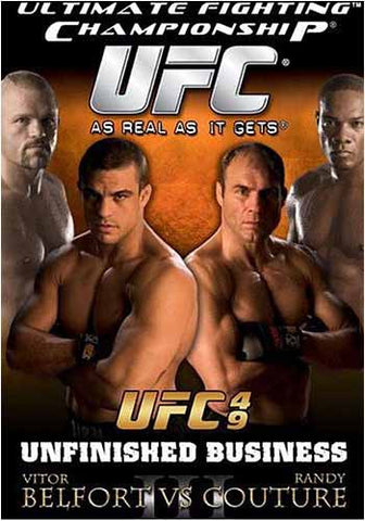 Ultimate Fighting Championship UFC 49 - Unfinished Business DVD Movie
