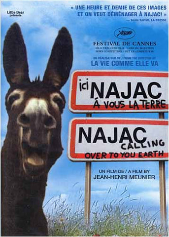 Najac Calling Over to You Earth / Ici Najac, A vous la terre DVD Movie