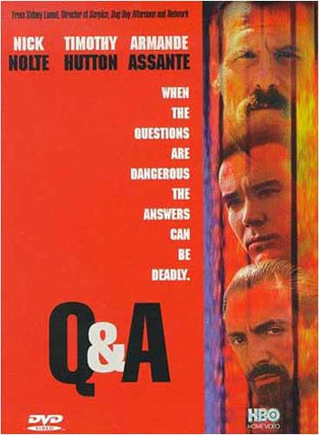 Q & A (Red Cover) (Snapcase) DVD Movie