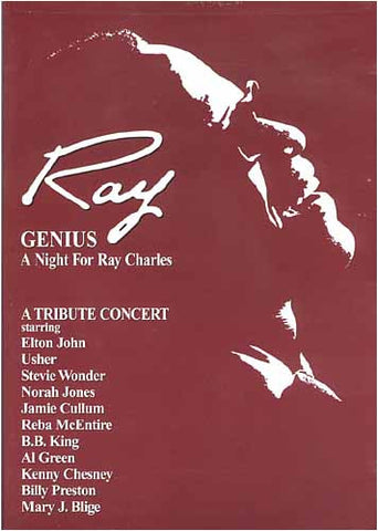 Ray - Genius A Night ForCharles (A Tribute Concert) DVD Movie