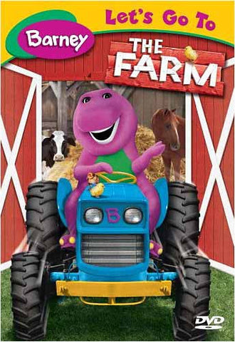 Barney - Let's Go To the Farm DVD Movie