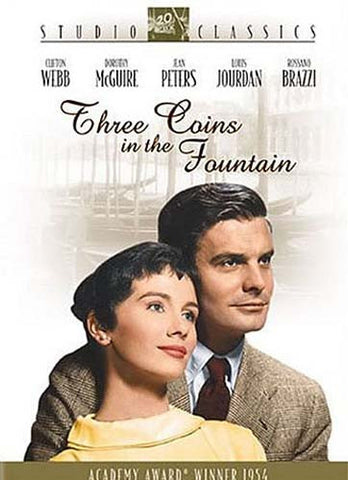 Three Coins in the Fountain DVD Movie