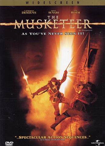 The Musketeer (Widescreen) (Bilingual) DVD Movie