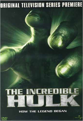The Incredible Hulk - Original Television Series Premiere DVD Movie