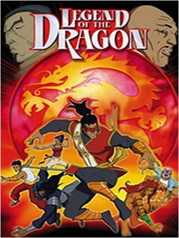 Legend of the Dragon, Vol. 1(4 Episodes - 87 Minutes) DVD Movie