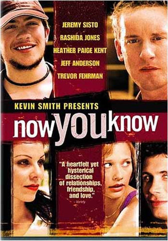 Now You Know(bilingual) DVD Movie